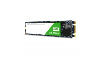 SSD|WESTERN DIGITAL|Green|120GB|M.2|SATA 3.0|Read speed 545 MBytes/sec|MTBF 1000000 hours|WDS120G2G0B