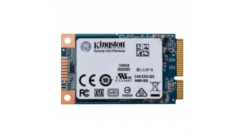 SSD|KINGSTON|UV500|120GB|mSATA|SATA 3.0|TLC|Write speed 320 MBytes/sec|Read speed 520 MBytes/sec|MTBF 1000000 hours|SUV500MS/120G