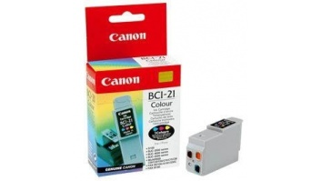 INK CARTRIDGE COLOUR BCI-21C/0955A002 CANON