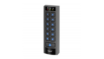 KEYPAD PARTITION /INTEGRA/W/READER INT-SCR-BL SATEL