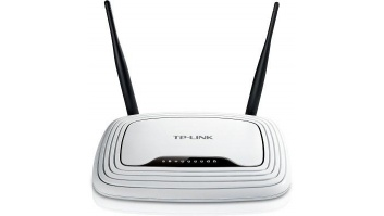 Wireless Router|TP-LINK|Wireless Router|300 Mbps|IEEE 802.11b|IEEE 802.11g|IEEE 802.11n|1 WAN|4x10/100M|DHCP|TL-WR841N