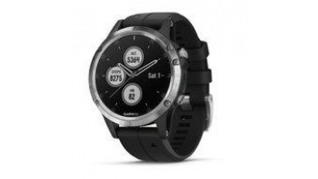 SMARTWATCH FENIX 5 PLUS/SILV/BLACK 010-01988-11 GARMIN