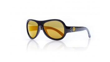 SHADEZ Designer Polka Sunflower Black Junior bērnusaules brilles, 3-7 gadi