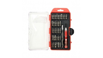 PRECISION SCREWDRIVER BIT SET/36PCS TK-SD-09 GEMBIRD
