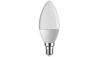 LIGHT BULB LED E14 3000K 6.5W/550LM 360 C37 21131 LEDURO