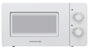DAEWOO Microwave oven KOR-5A17W  Mechanical, 500 W, White, Free standing, Defrost function