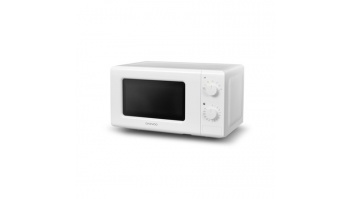 DAEWOO Microwave oven KOR-6617W 20 L, Rotary, 700 W, White, Free standing, Defrost function