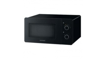 DAEWOO Microwave oven KOR-5A17B 15 L, Mechanical, 500 W, Black, Free standing, 500 W, Defrost function