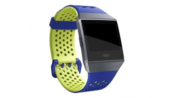 Fitbit Ionic Accessory, Sport Band, Blue/Yellow