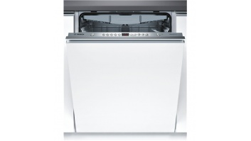 Bosch Dishwasher SMV45EX00E Built in, Width 60 cm, Number of place settings 13, Number of programs 5, A++, Display, AquaStop function, White