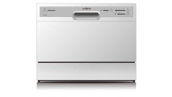 Goddess Dishwasher GODDTC656MW8 Table, Width 55 cm, Number of place settings 6, Number of programs 6, A+, AquaStop function, White