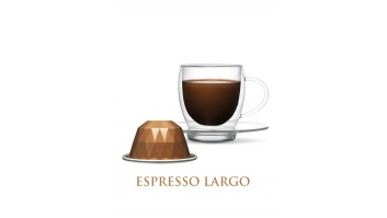 Belmoca Largo Coffee Capsules, 10 capsules, Coffee strength 6/12, 55 g