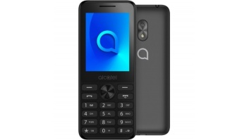 "Alcatel 2003D Dark Grey, 2.4 "", 240 x 320 pixels, 4 MB, 4 MB, Dual SIM, Main camera 1.3 MP, 970 mAh"