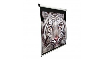"Elite Screens Manual Series M80NWV Diagonal 80 "", 4:3, Viewable screen width (W) 163 cm, White"