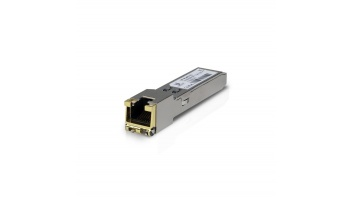 Ubiquiti UF-RJ45-1G SFP, Copper, RJ-45, 10/100/1000 Mbit/s, Maximum transfer distance 100 m, 0 to +70C