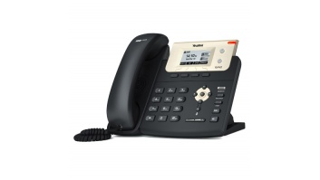 Yealink SIP-T21P E2 IP Phone, 132 x 64-pixel graphical LCD with backlight, 2 VoIP accounts