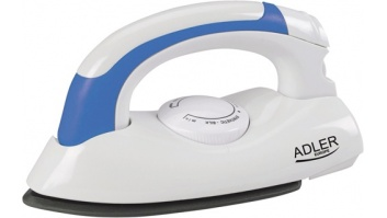 Iron Adler AD 5015 White, 800 W, With cord,