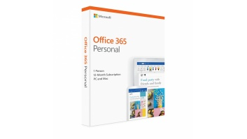Microsoft Office 365 Personal QQ2-00861 1 person, License term 1 year(s), Latvian, Medialess P4