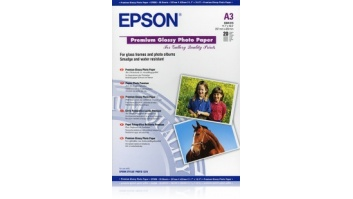 Epson Premium Glossy Photo Paper A3, 250g/m2, 20 sheets