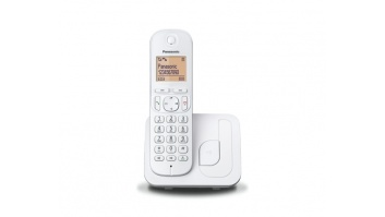Panasonic Cordless KX-TGC210FXW White, Built-in display, Speakerphone, Caller ID, Phonebook capacity 50 entries