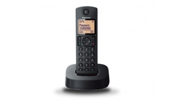 Panasonic Cordless KX-TGC310FXB Built-in display, Speakerphone, Black, Caller ID, Phonebook capacity 50 entries