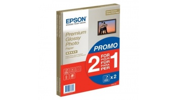 Epson Premium Glossy Photo Paper 30 sheets Photo, White, A4, 255 g/m²