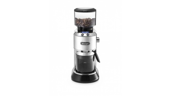 Delonghi Coffee Grinder KG521.M DEDICA Inox/ black, 150 W, 350 g, Number of cups 14 pc(s)