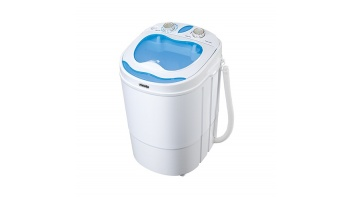 Mesko Washing machine semi automatic MS 8053 Top loading, Washing capacity 3 kg, Depth 37 cm, Width 36 cm, White,