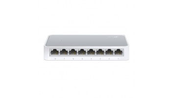 TP-LINK Switch TL-SF1008D Unmanaged, Desktop, 10/100 Mbps (RJ-45) ports quantity 8, Power supply type External