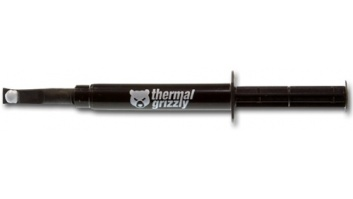 "Thermal Grizzly Thermal grease ""Aeronaut"" 1.5ml/3.8g Thermal Conductivity: 8,5 W/mk; Thermal Resistance: 0,0129 K/W; Electrical Conductivity*: 0 pS/m; Viscosity: 110-160 Pas;  Temperature: -150 °C / +200 °C;"
