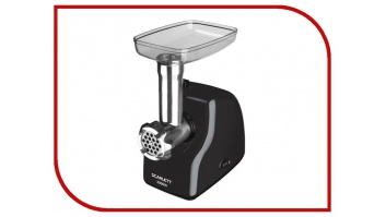 Scarlett Meat Grinder SC - MG45M15 Black/inox, 2000 W, Number of speeds 1, 2 perforated discs for minced meat with holes of 5 and 7 mm