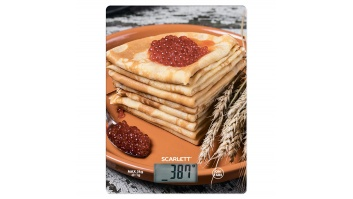Scarlett Kitchen scales SC - KS57P45 Maximum weight (capacity) 5 kg, Graduation 1 g, Display type LCD,
