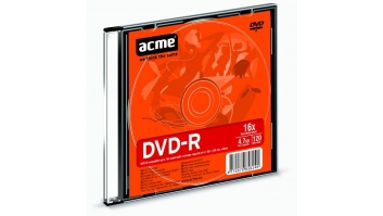 Acme DVD-R 4.7 GB, 16 x, Plastic Slim Box