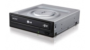 H.L Data Storage DVD-Writer HH Bare type GH24NSD5 Internal, Interface SATA, DVD±R/RW, CD read speed 48 x, CD write speed 48 x, Black, Desktop