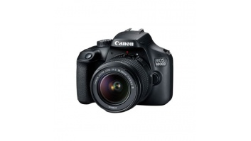"Canon EOS 4000D 18-55 III EU26 SLR Camera Kit, Megapixel 18 MP, Image stabilizer, ISO 12800, Display diagonal 2.7 "", Wi-Fi, Video recording, APS-C, Black"