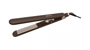 Camry Hair straightener  CR 2314 Ceramic heating system, Display No, Temperature (min) 80 °C, Temperature (max) 220 °C, 40 W, Brown