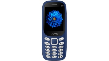 "Joys S8 DS (Blue) Dual mini SIM 2.4"" TFT 240x320/ SC6531E/ 32Mb/ ROM 32Mb/FM,BT, 2G  Joy's"