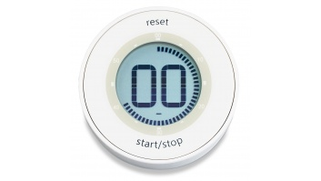ADE 	TD1800-1 White, Functions Stopwatch function. Automatic power-off.