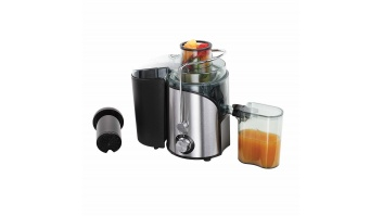 DomoClip LIVOO DOP182 Type Centrifugal juicer, Stainless steel/ black, 600 W, Extra large fruit input, Number of speeds 2