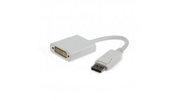 Gembird DisplayPort to DVI adapter cable, white