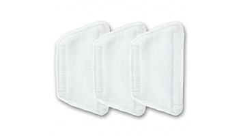 Morphy richards 35850 Mini Cleaning Cloth (3 pack), Morphy Richards Steam Cleaner, White