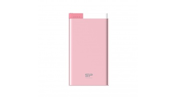 SILICON POWER Power Bank,S55,5000mAh,Pink