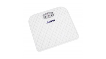 Mesko MS 8160 Bathroom scales, Capacity 130 kg, White