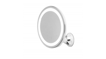 Adler AD 2168 Bathroom Mirror, 3 AAA batteries, LED Lightening, White
