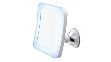 Camry CR 2169 Bathroom Mirror, 3 AAA batteries, LED Lightening, White