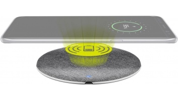 Goobay Fast Wireless Charger 10 W, 1 m Aluminium/silver