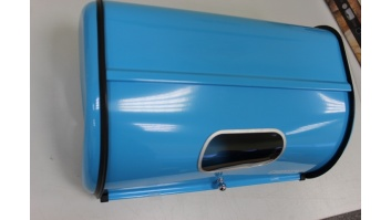 SALE OUT. Camry CR 6717 Bread storage, Blue Camry Bread storage, Blue, DAMAGED PACKAGING, DENT, DAMAGED PAINT