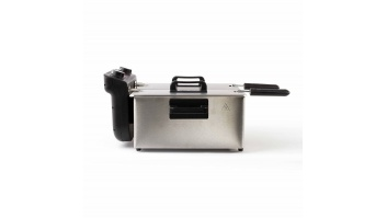 DomoClip Double Deep Fryer DOC217  Inox, 3300 W, 2 x 3 L