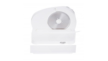 Adler AD 4701 Food slicer, Electric, Power 200 W, Freely adjusted slice thickness, White