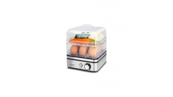 Caso Egg Boiler and Steam Cooker ED10 Stainless steel/ black, 400 W,
